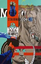 Myriam BAUDIN - Estampe-Multiple - No Stairway 2 Heaven