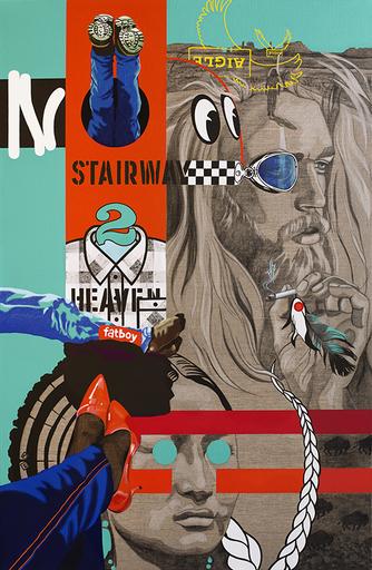 Myriam BAUDIN - Print-Multiple - No Stairway 2 Heaven