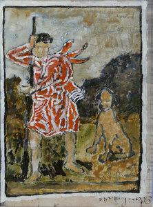 Jean-Pierre PINCEMIN - Painting - Saint-Roch