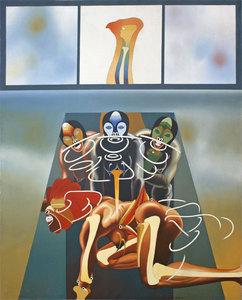 Heriberto COGOLLO - Pittura - LE MONDE D'UN NOHOR