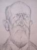 Henryk BERLEWI - Dibujo Acuarela - Portrait of Zwi Pryturki