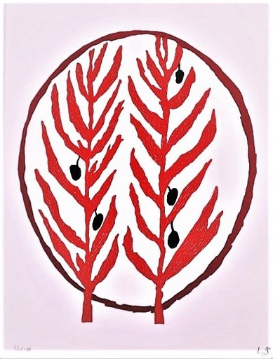 Louise BOURGEOIS - Grabado - The Olive branch