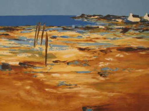 Jean-Claude ALLENBACH - 版画 - Paysage de Bretagne.