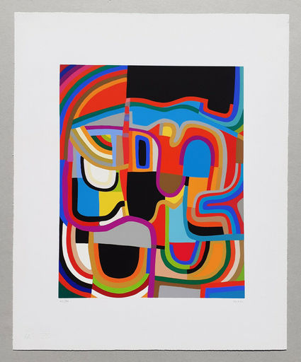 Alberto BURRI - Print-Multiple - Trittico E - Serigrafia 2-E