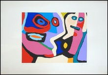 Karel APPEL - Grabado - Untitled
