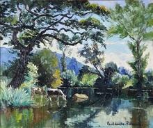 Paul Émile PISSARRO (1884-1972) - At the river