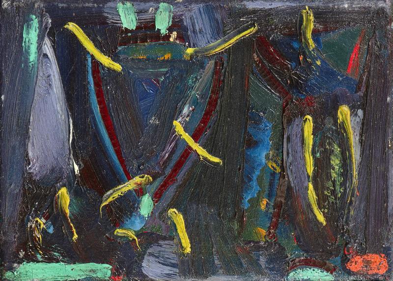 Olivier DEBRÉ - Peinture - Composition