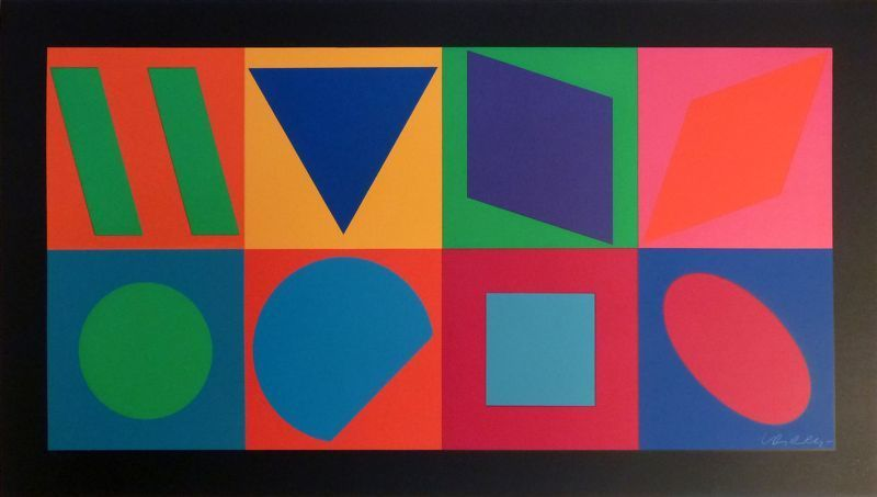 Victor VASARELY - Stampa Multiplo - Sans titre