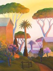 SALVO - Painting - Paesaggio