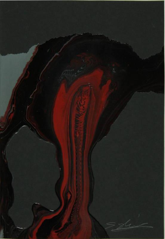 Shozo SHIMAMOTO - Peinture - Uzumaki