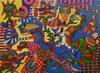 KUSBUDIYANTO - Painting - Seribu Mata