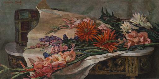 Constantin FONT - Gemälde - Flowers