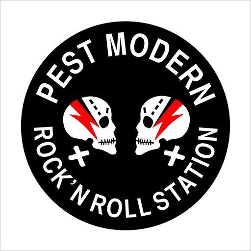 Joël HUBAUT - 版画 - PEST MODERN - ROCK'N ROLL STATION