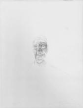 Alberto GIACOMETTI - Estampe-Multiple - Tete d'homme