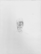 Alberto GIACOMETTI - Print-Multiple - Tete d'homme