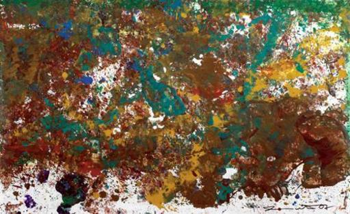 Hermann NITSCH - Painting - Senza titolo  2007