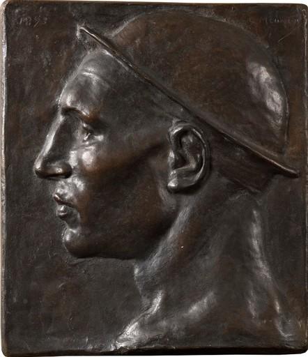 Constantin Emile MEUNIER - Skulptur Volumen - Tête de mineur