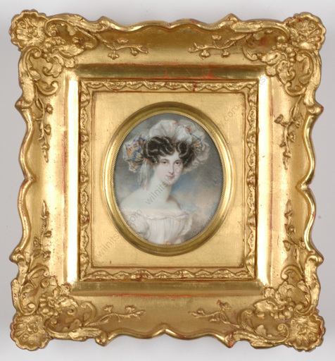 "Moritz Michael DAFFINGER - Miniature - ""Portrait of a young Lady"", ca.1820"