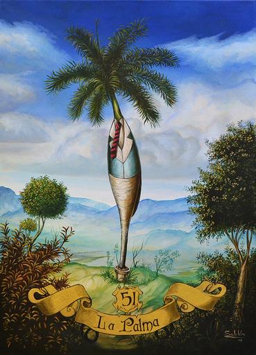 Carlos SABLÓN - Peinture - La Palme