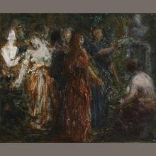 Henri-Théodore FANTIN-LATOUR - Painting - To Robert Schumann