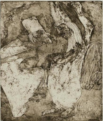 Emil NOLDE - Print-Multiple - Gelehrtenstreit