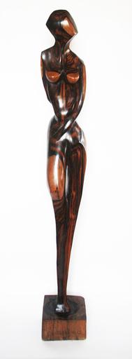 Olalekan GANI OLATUNMBI - Sculpture-Volume - African girl