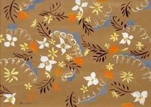 Raoul DUFY - Painting - Fleurs et éventails de dentelle