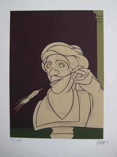 Valerio ADAMI - 版画 - LITHOGRAPHIE SIGNÉE AU CRAYON NUM/100 HANDSIGNED LITHOGRAPH