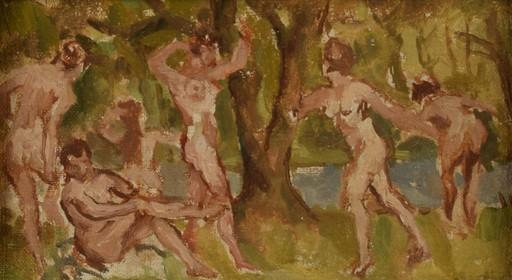 Karol LARISCH - Gemälde - Graces