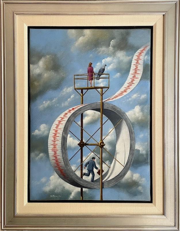 Rafal OLBINSKI - Painting - Experimental Greatness