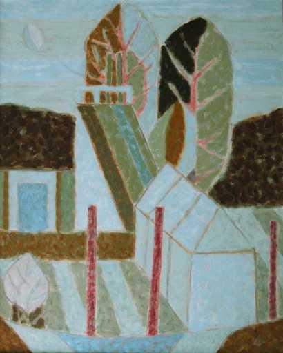 Gennady ZUBKOV - Painting - Outside the city