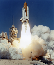 N.A.S.A. - Photography - Space Schuttle - Lift-off Atlantis (STS-66)