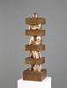 Sacha SOSNO - Sculpture-Volume - Colonne au carré