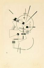 Wassily KANDINSKY (1866-1944) - Lithographie N° II