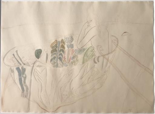 Mimmo PALADINO - Dibujo Acuarela - ohne titel