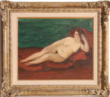 André DERAIN - Peinture - Reclining Nude