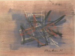 Bill PARKER - Peinture - abstraction