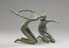 Sylvie DERELY - Sculpture-Volume - Premier baiser