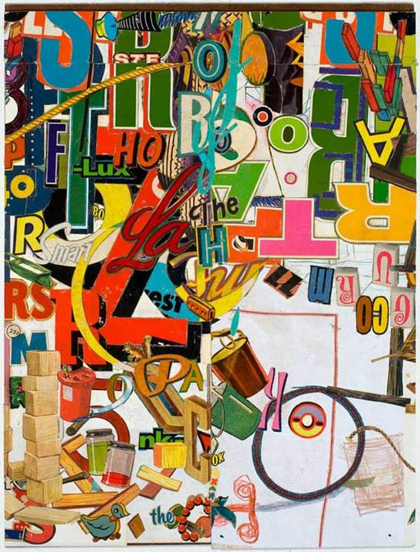 Lance LETSCHER - Drawing-Watercolor - Block Head #2