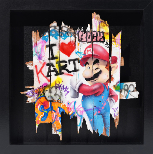 ONEMIZER - Painting - I Love Kart