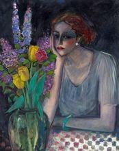 让-皮埃尔•卡西尼尔 - 绘画 - Les tulipes