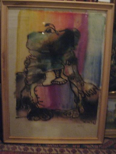 ATILA - Drawing-Watercolor - TACTILE   1972