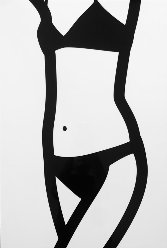 Julian OPIE - Print-Multiple - Watching Suzanne (front). 8