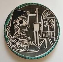 Pablo PICASSO - Céramique - Jacqueline au chevalet