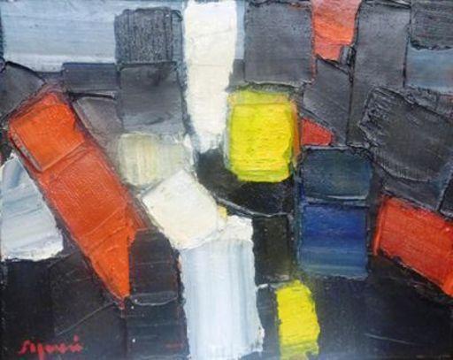 Mario SIGNORI - Pintura - composition