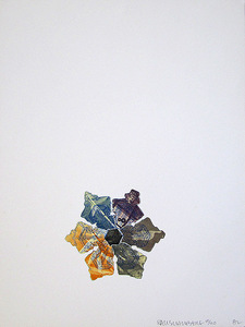 """Robert RAUSCHENBERG, """"400' and Rising"""", from L.A. Flakes"""