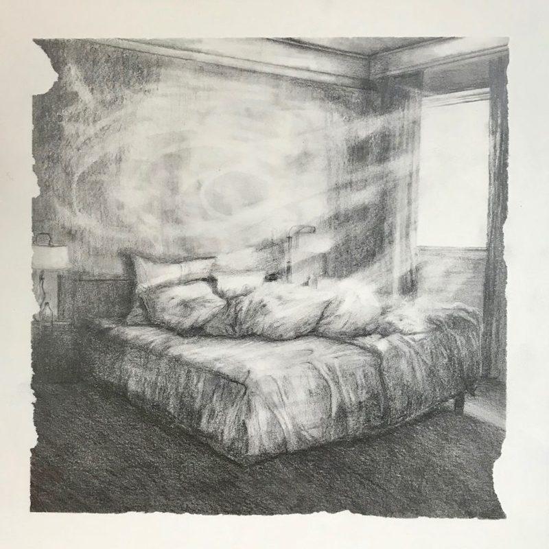 Marie DONNEVE - Dessin-Aquarelle - « Blow up »