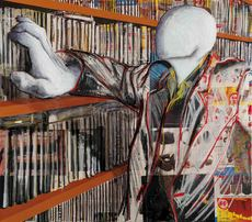 Alfonso BONAVITA - Pintura - La recherche