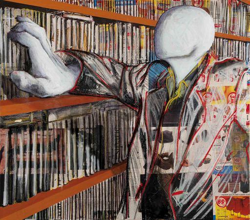 Alfonso BONAVITA - Painting - La recherche