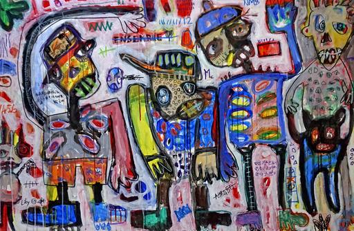 LIBY - Painting - Génération Yoyo